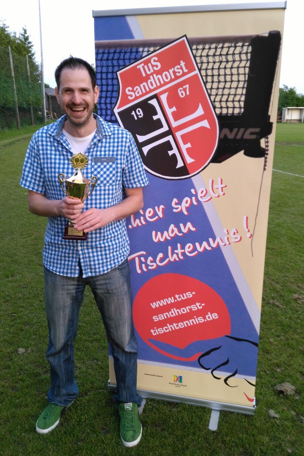 Der strahlende Sieger Stephan Grüne